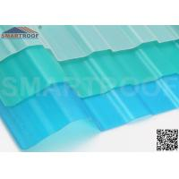 Wholesale Plastic Corrugated PVC Roofing Sheets Skylight 68% Light Transmittance from china suppliers