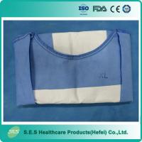 Wholesale Sterile disposable Non woven fabric/ SMS/ PP+PE operation surgical gown from china suppliers