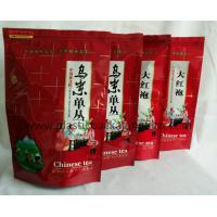 Wholesale Stand Up Printed Packaging Aluminum Lined Bags With Zipper , Food Grade Material Pouch For Tea / Coffee / Snack from china suppliers