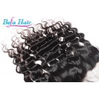 Quality Human Virgin Hair Silk Base Closures Lace Frontal More Natural And Lasting for sale