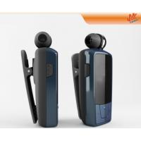 Wholesale Clear sound Small V2.1+ EDR Retractable Bluetooth Headset, smart phone Clip earpiece from china suppliers