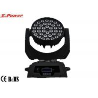 Wholesale Professional 36 PCS 10 Watt 4 In 1 Led Moving Head Lights Zoom  LCD Display  X-13 from china suppliers
