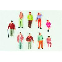 Wholesale P43-10 outdoor 1:43 Architectural Scale Model People Painted Figures 4.8cm from china suppliers