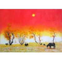 Wholesale Whole Oil Painting- Classical Realistic Modern Landscape Original Oil Painting from china suppliers