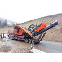 Quality Construction Waste Recycling Crawler - Type Mobile Impact Crushing Plant ER-250IS for sale
