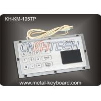Wholesale Industrial Panel Mount Touchpad Keyboard with USB Interface , Custom Mechanical Keyboard from china suppliers
