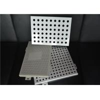 Wholesale Perforated Interior Decoration Aluminum Perforated Ceiling Panels Fireproof from china suppliers