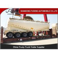 Wholesale 80T 60m3 Four Axles Cement Tanker Semi Trailer With Air Compressor from china suppliers