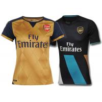 Wholesale Puma Arsenal FC Away Womens Soccer Jerseys Navy Gold EPL Football Soccer Shirt from china suppliers