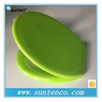 Urea White Closed Front and Soft Close Green Toilet Seat Covers