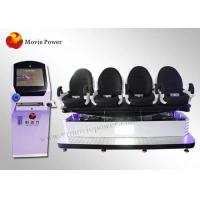 Wholesale Comfortable 3 Seats 9d Virtual Reality Simulator With Roller Coaster from china suppliers
