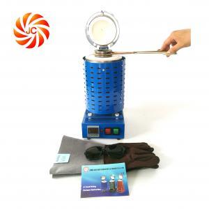 Buy cheap JC-K-110-1 Aluminum gold melting pot working temp 1120C power 1500w from wholesalers