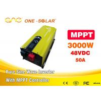 Wholesale 95% Stable 48v Dc 110v Ac 3000w Pure Sine Wave Inverter Charger MPPT Solar Inverter from china suppliers