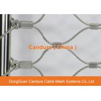 Wholesale Flexible And Durable Stainless Steel Wire Cable Netting For Safety from china suppliers