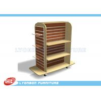 Wholesale Mall Center Clothing Slatwall Display Stands MDF , retail Gondola Display from china suppliers