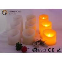 Quality Various Color Flameless Led Candles With Paraffin Wax Material for sale