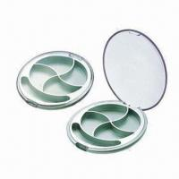 Buy cheap Cosmetic Packing Boxes/Cases/Containers/Eye Shadow Cases, Made of ABS and AS Materials from wholesalers