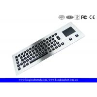 Wholesale Dust-Proof Illuminated Metal Keyboard Silver With 65 LED Individually-Lit Keys from china suppliers