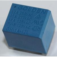 Wholesale Blue PCB Layout 12A 12 Volt Relay 10A / 250VDC 102F/G4A GH JQC-3FF from china suppliers