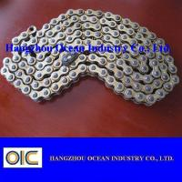 Wholesale High Wear Resistance Motorcycle Chains With Copper Plated , Long Life Time from china suppliers