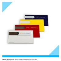 Wholesale  Business card fancy flash drive  MOQ 100pcs full color logo imprint from china suppliers