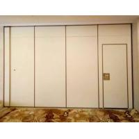 Wholesale Hotel Acoustic Room Dividers / Wooden Sliding Wall Partitions Folding Parking System from china suppliers