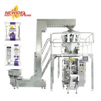 Quality Automatic Puffed Rice Snacks Food Pouch Packaging Machine Nitrogen Flushing for sale