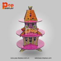 Wholesale Customized POP Pumpkin House Cupcake Display Stands for counter display / floor display from china suppliers