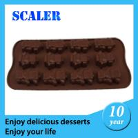 Wholesale Colorful flexible Customized silicon chocolate molds Eco-Friendly from china suppliers