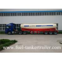 Wholesale V type 60Ton 4 Axles Bulk Cement Trailer Export To Pakistan from china suppliers