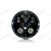 Wholesale Black / Silver Motorcycle LED Headlight 5.75inch 45W LED Turn Signals For Harley from china suppliers