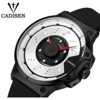 Wholesale Cadisen Creative Fashion Silicone Strap Waterproof 30m Remarkable Dial Quartz Wrist Watch 9059 from china suppliers