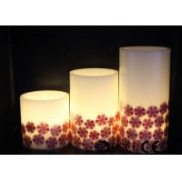 Wholesale Decorative Halloween Pillar Candles , Halloween Battery Candles HL-007 from china suppliers