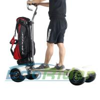 Wholesale EcoRider Four Wheel Electric Golf Scooter Skateboard Cart with Ajustable Handle from china suppliers