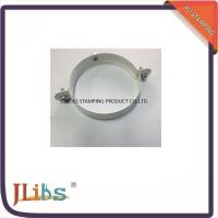 Wholesale Galvanized Metal Supporting Round Clamp Down Pipe Clamps Riveted Fixed Screw from china suppliers