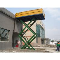 Wholesale 8m Electrical Driving 2300Kg Hydraulic Lift Platform Automotive Car Scissor Lift from china suppliers