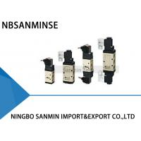 Wholesale 1/8 1/4 3/8 G Type Solenoid Valve Pneumatic Valve Air Control Valve Single / Double Coil from china suppliers