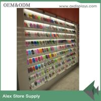 Quality Mobile accessories display showcase mobile phone shop interior display for sale