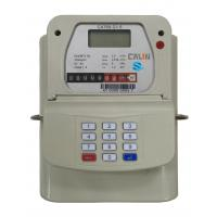 Wholesale STS Steel Material Smart Keypad Prepaid Gas Meter With Gas Vending System tamper protection from china suppliers