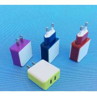 Wholesale 5V 1A 2.1A dual usb  or single usb charger    level  vi  UL CE FCC ROHS GS PSE SAA EMC LVD  certificate from china suppliers