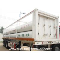 Wholesale SHENGRUN 6 Tube CNG Tank Trailer with 25.02m3 Total Cylinder Volume from china suppliers