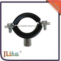 Wholesale Zinc Plating Cast Iron Pipe Mounting Clamps , Black Iron Pipe Hangers from china suppliers