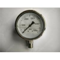 "Wholesale 4"" High Range Liquid Filled Glycerin Pressure Gauge with All Stainless Steel Case from china suppliers"