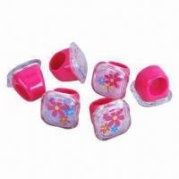 Buy cheap Jewelry ring, made of PP material, customized artworks are welcome from wholesalers