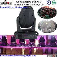 Wholesale Concert / DJ / Disco /Bar 60W Led Moving Head Spot Light Linear Focus from china suppliers