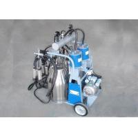 Wholesale Piston - Type Double Bucket Mobile Milking Machine With 1440 Rpm / Min from china suppliers