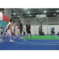 Wholesale Light Blue Outdoor Basketball Flooring Anti Skid , Interlocking Design from china suppliers