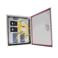 Wholesale Water Proof Fiber Distribution Box , Wall Mounted Cold Rolled Steel Body from china suppliers
