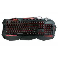 Wholesale Multimedia Anti Ghosting Light Up Gaming Keyboard Backlit Windows / Mac Compatibility from china suppliers