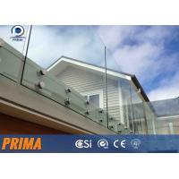 Wholesale best-selling fashionable stainless steel glass balcony railings from china suppliers